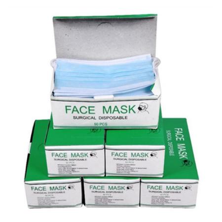 3 rétegű egészségügyi maszk / 100 db