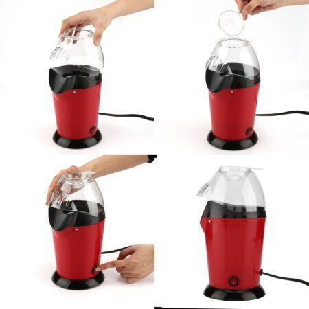 Minijoy pattogatott kukorica készítő PM-1800 Piros színben