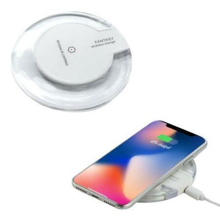 Ultra Slim Crystal Fantasy Qi vezeték nélküli mobiltelefon töltő