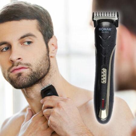 Sonar professzionális haj- és szakállvágó, borotva és orrszörnyíró készlet SN-5802