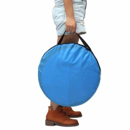 Egyszerűen felállítható Pop Up strandsátor kék színben