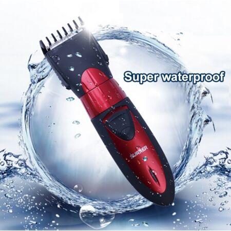 Surker akkumulátoros vízálló hajvágó készlet