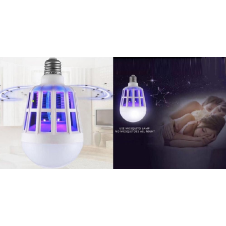 Szúnyogirtó LED izzó UV-fénnyel