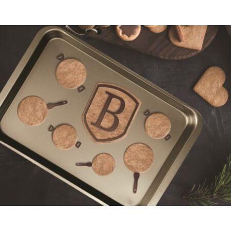 My Bronze Pastry Cook tepsi tapadásmentes bevonattal, fedővel BH-1432