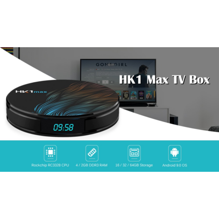 Leovin Smart Tv Box HK1max 4GB/64GB Android 9 - 8K Ultra HD