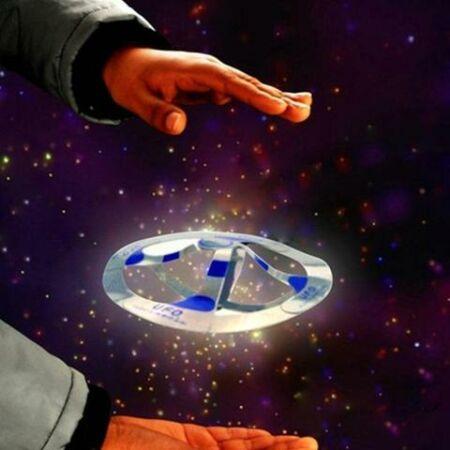 Varázslatos lebegő UFO