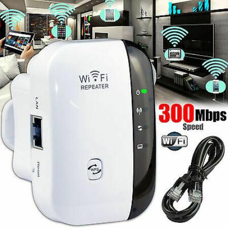 Wireless-N Wifi jelerősítő 300Mbps